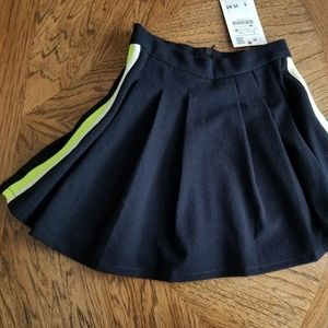 Zara kids skirt, navy blue